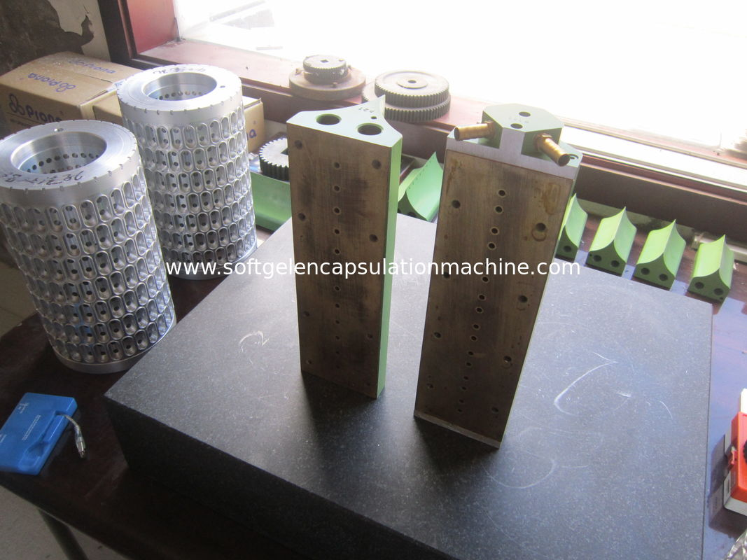 High Precision Capsule Mold Aluminium Alloy Softgel Complete Die Roll Set